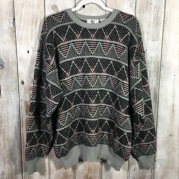 Vintage Other - 💣 Vintage Soft Sweater Ugly Christmas Size XL